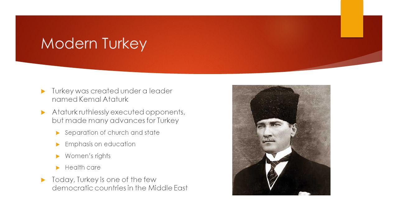 ataturk as a leader