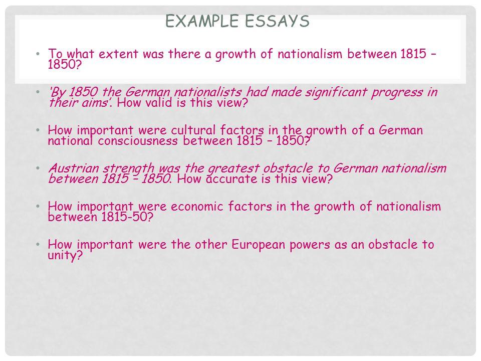 German Essay