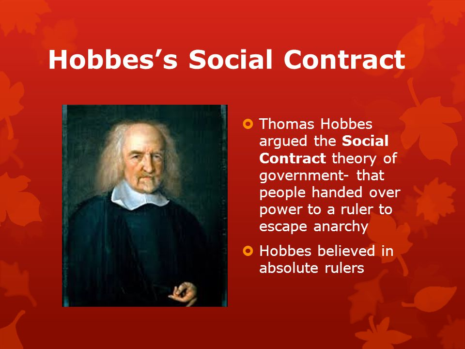 hobbes as a social covenant theorist essay