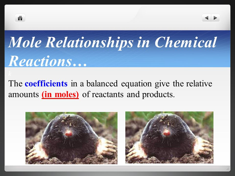 Why do chemists need Stoichiometry. Chemists often want to make a certain amount of a chemical.