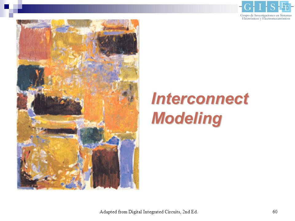 Adapted from Digital Integrated Circuits, 2nd Ed.60 InterconnectModeling