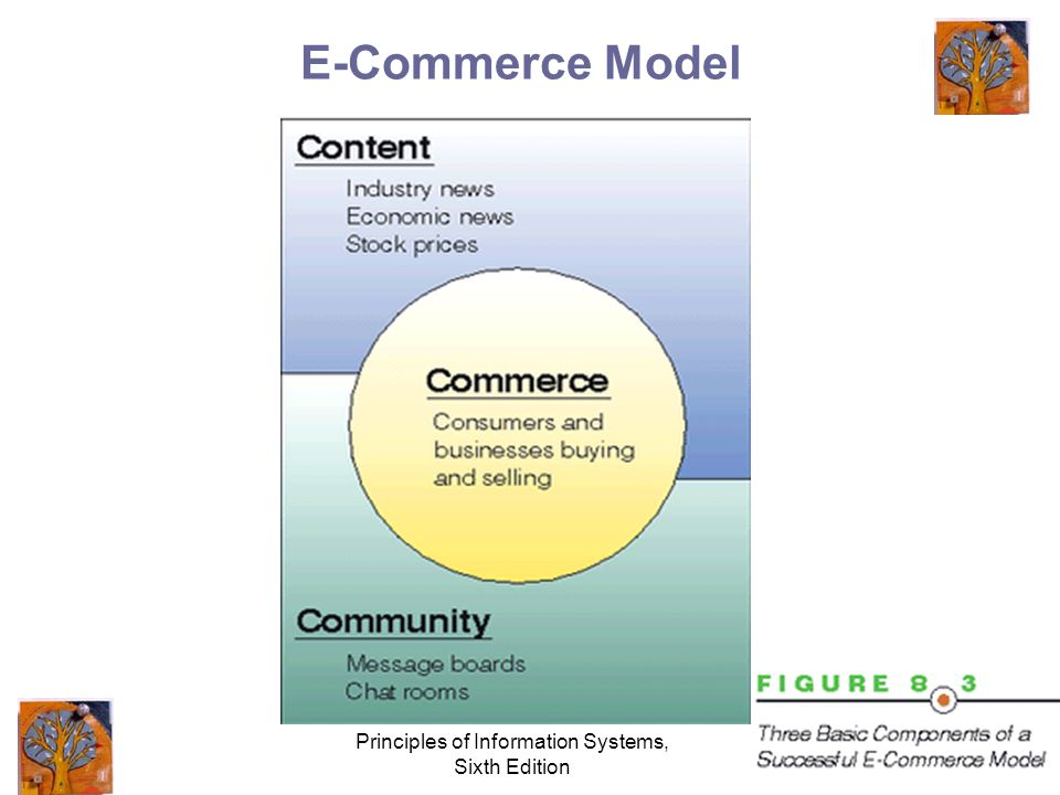 Principles of Information Systems, Sixth Edition 8 E-Commerce Model
