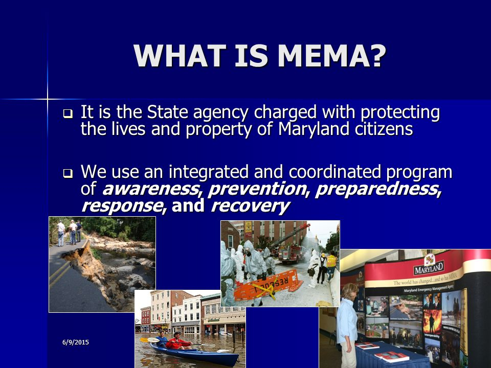 6/9/2015 WHAT IS MEMA.