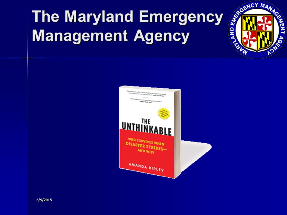6/9/2015 The Maryland Emergency Management Agency