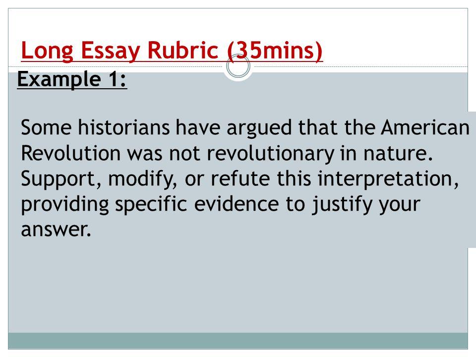 essay being american
