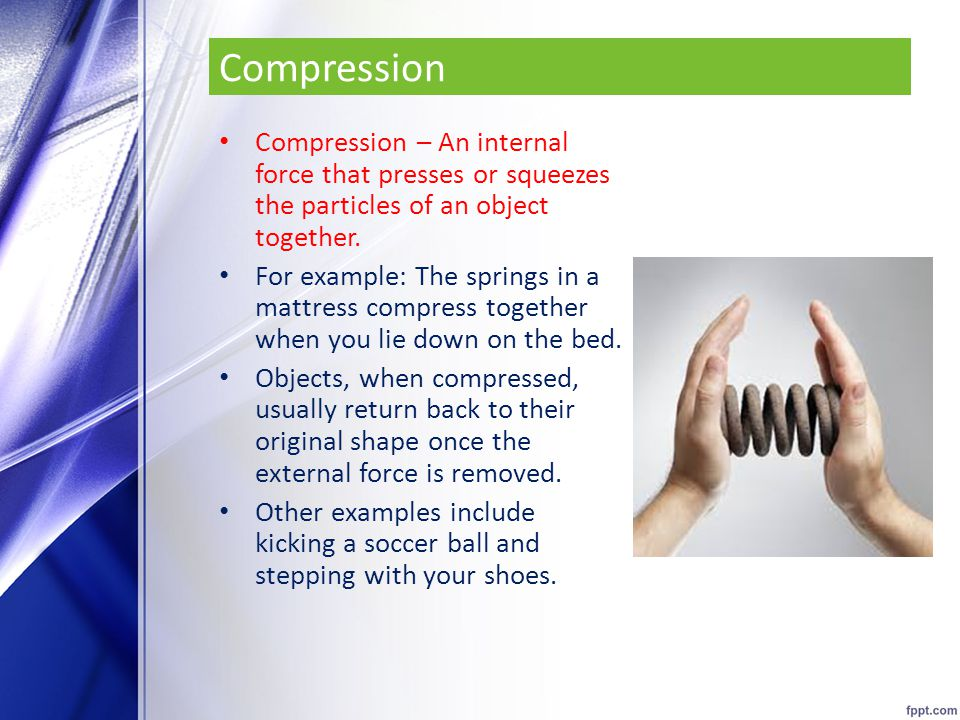 compression force examples. 10 compression force examples