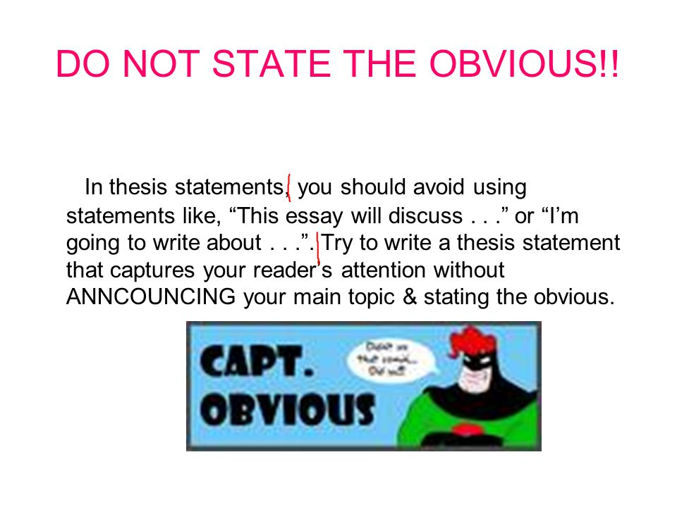 what should my thesis be about Almost every assignment you complete for a history course will ask you to make an argument your instructors will often call this your thesis -- your position on a subject.