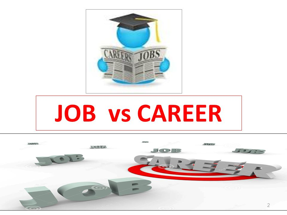 JOB vs CAREER 2