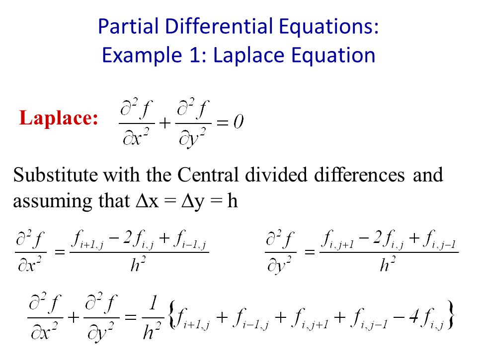 Partial differential equations solved problems