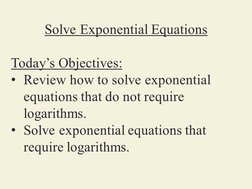 Solving Exponential Equations Worksheet Ukrobstep – Solving Exponential Equations Worksheet