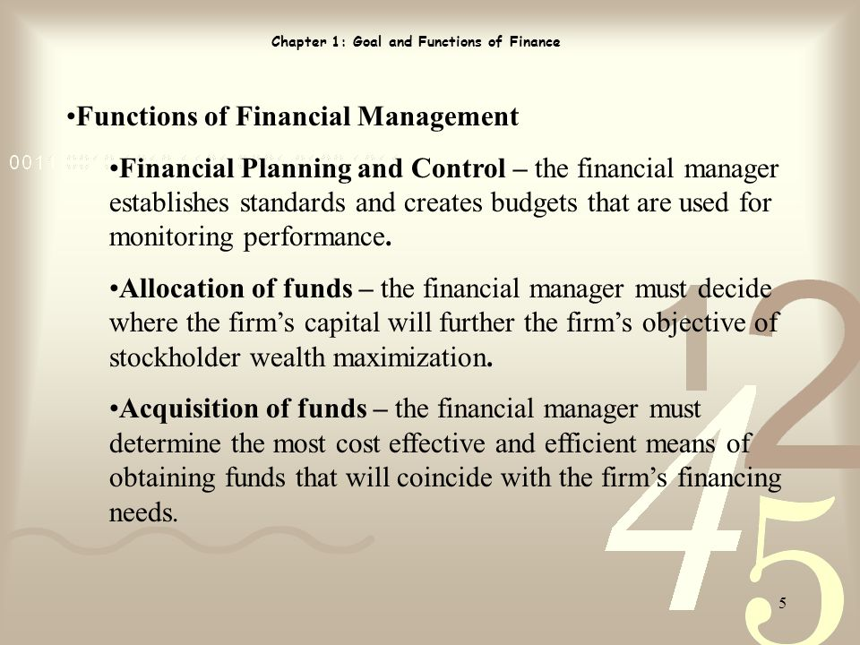 an essay on financial managers and the future of the firm Financial analysis for managers - essay areas of decision-making in a firm current and future business situations financial analysis for managers essay.
