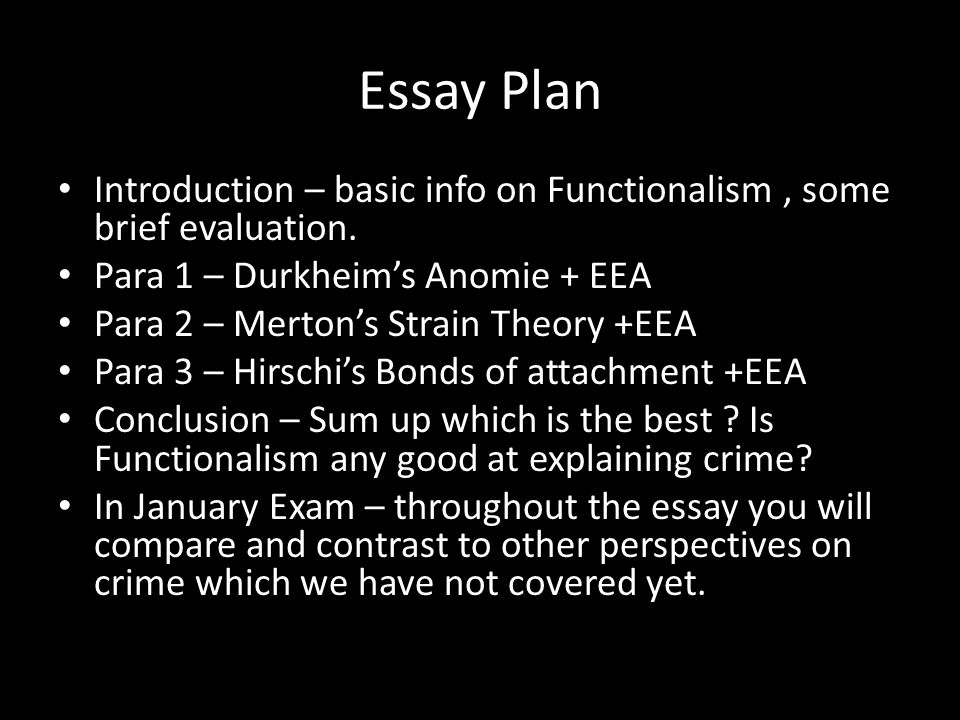 Help Writing Research Paper  Cotrugli Business School Crime And  Functionalism Crime And Deviance Essay Essay Structure