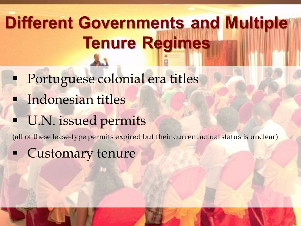  Portuguese colonial era titles  Indonesian titles  U.N.