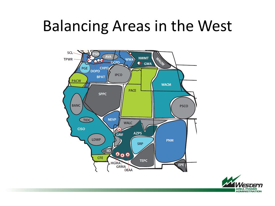 Balancing Areas in the West