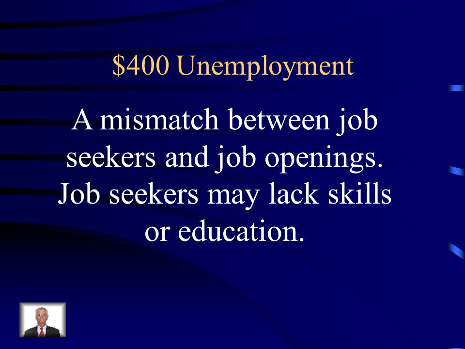 $300 Answer for Unemployment Frictional