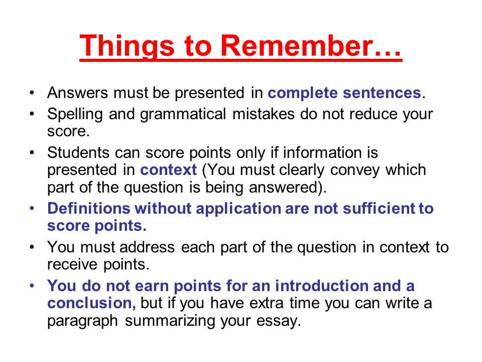 AP test question:do you have to write your ap essays in order?