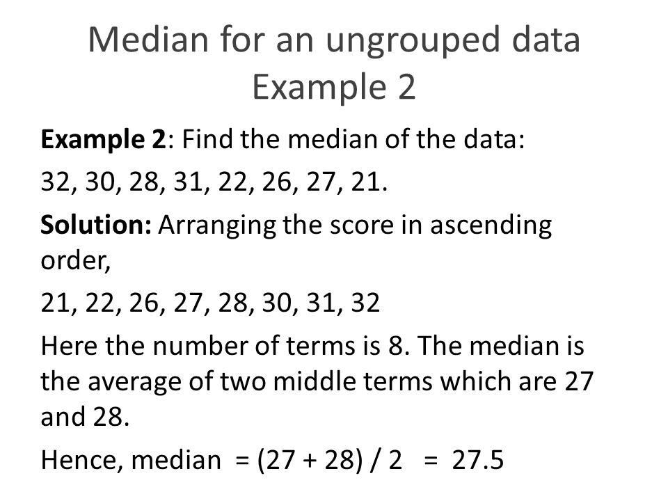 Statistics mathematics 8th grade chapter 1 unit ppt download 32 median ccuart Gallery