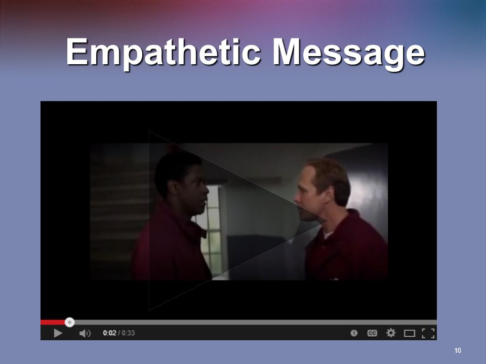 Empathetic Message 10
