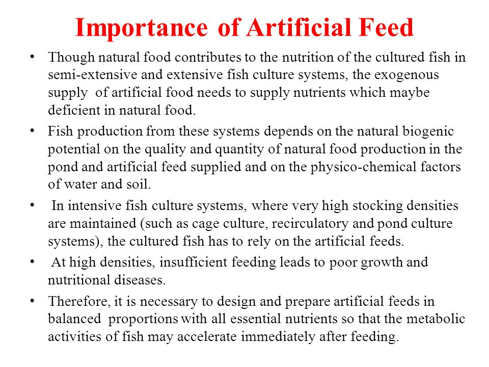 System Fish Fish Culture Systems