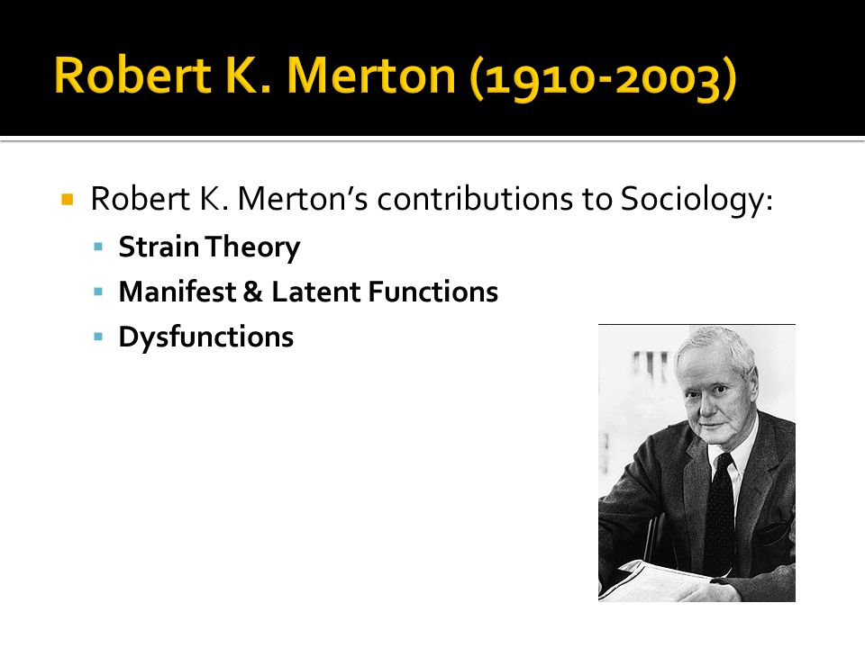 merton and luhman in sociology Sociology five e s s a y s , old and ne including part one ol social theory and social structurel a free press paperback macmiuan publishing co.