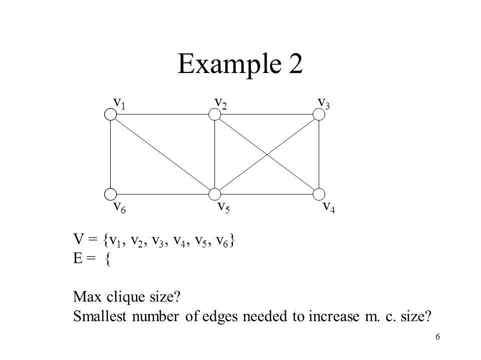 Problem solving skills example