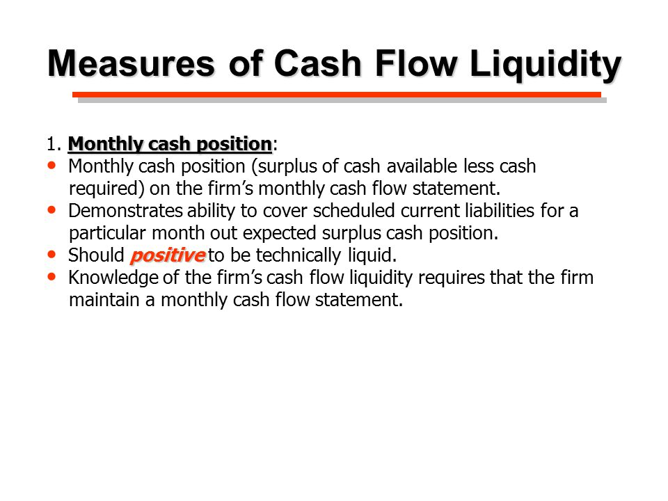 Cash Flow Statement -4 credit liquidity is $89,155 in May and June ($100,000 - $10,845).