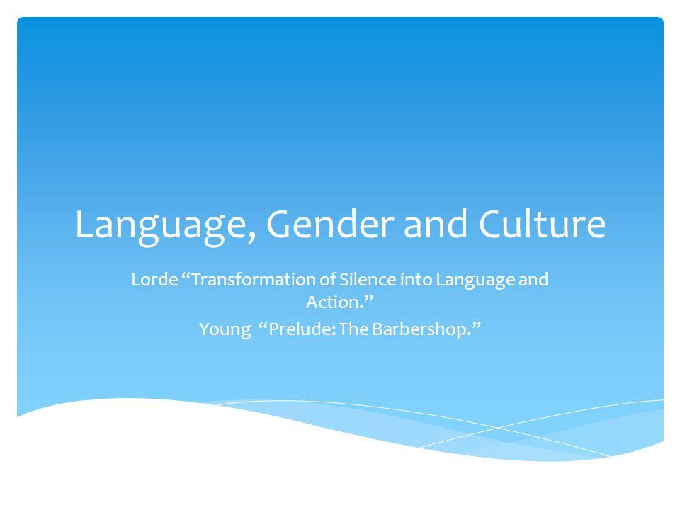 Language and culture essay topics