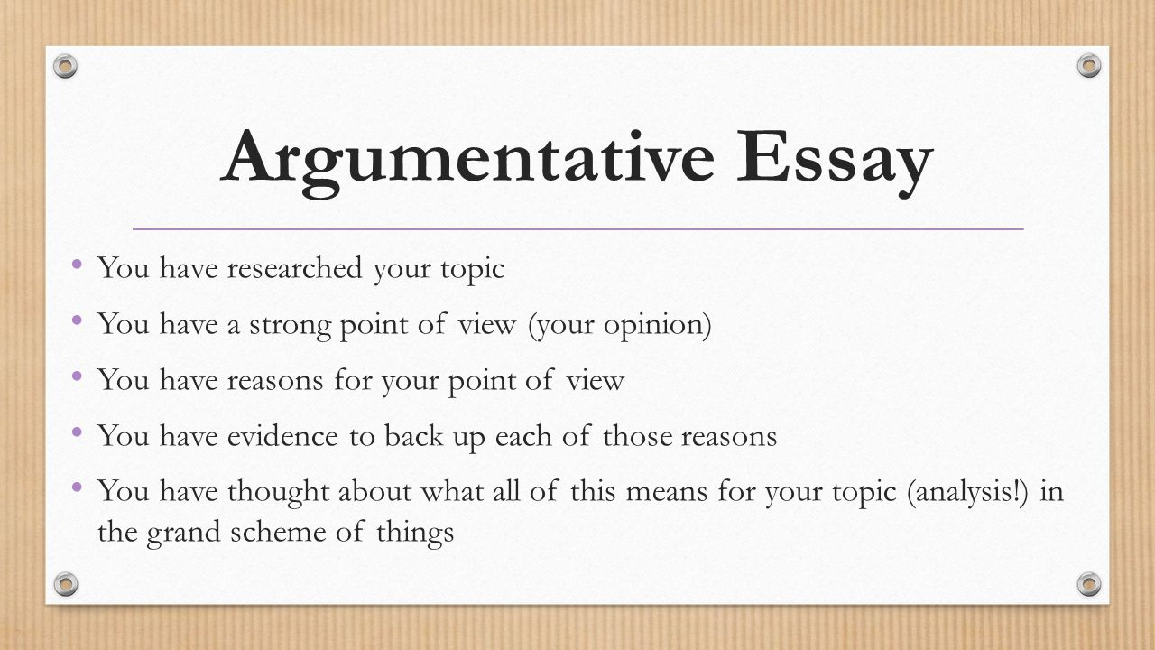 If you were assigned to write a research paper, and used only one point of view?