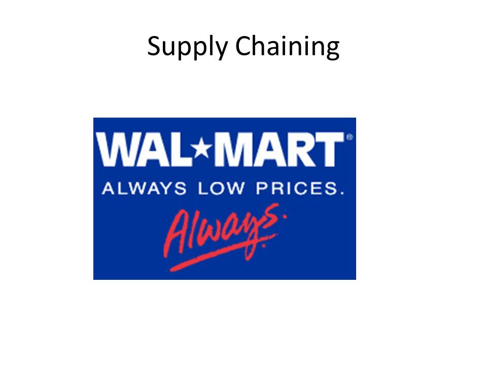 Supply Chaining