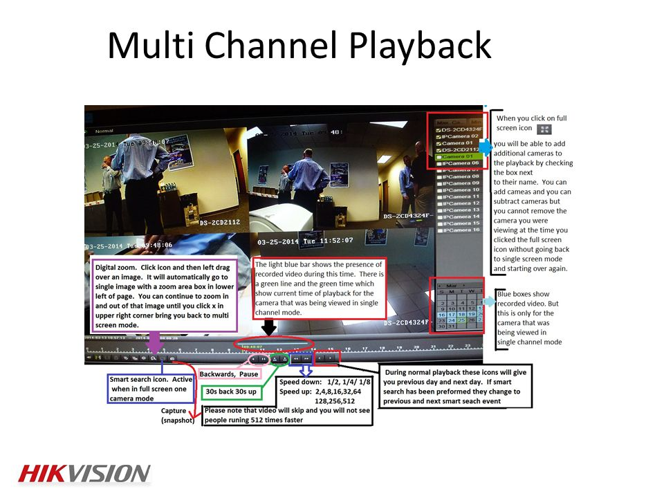 Multi Channel Playback