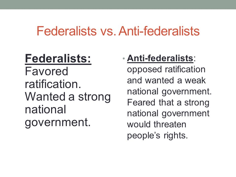 Worksheets Ratifying The Constitution Worksheet ratification of the constitution federalists versus anti favored wanted a strong national government