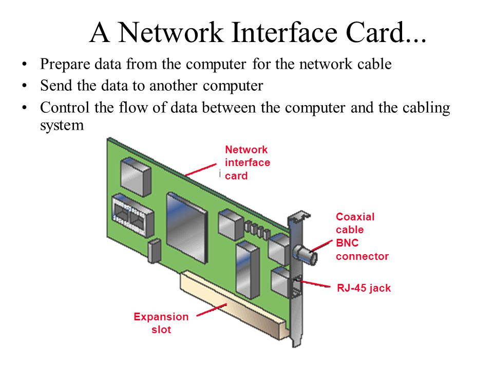 A Network Interface Card...