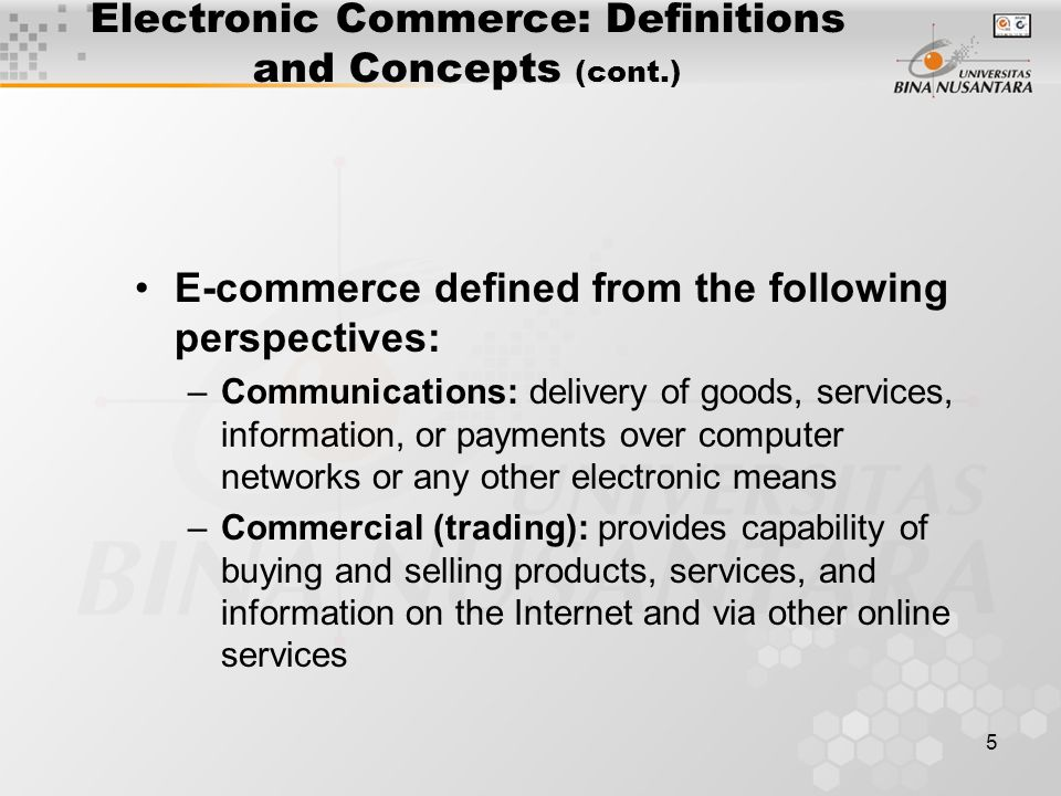 16 Exhibit 1.2: A Framework for Electronic Commerce