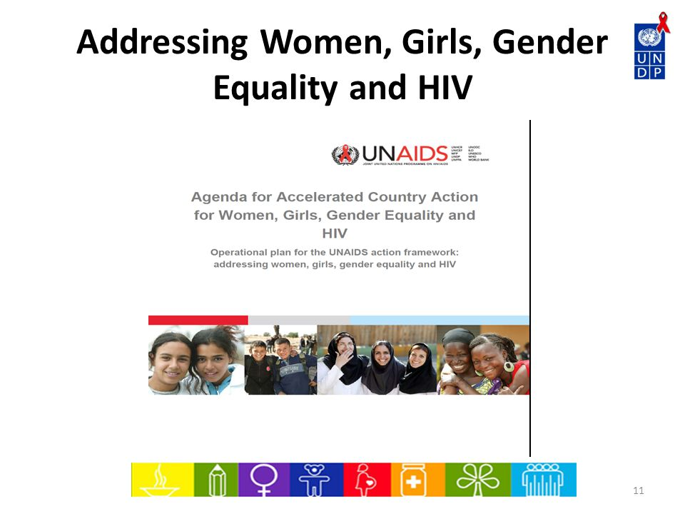 Addressing Women, Girls, Gender Equality and HIV 11