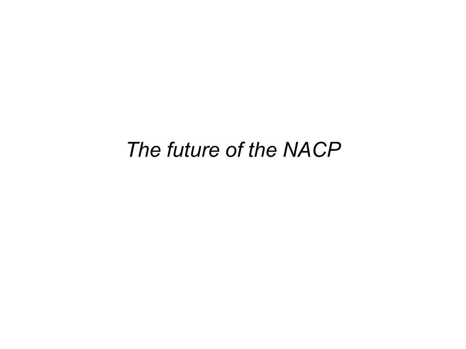 The future of the NACP