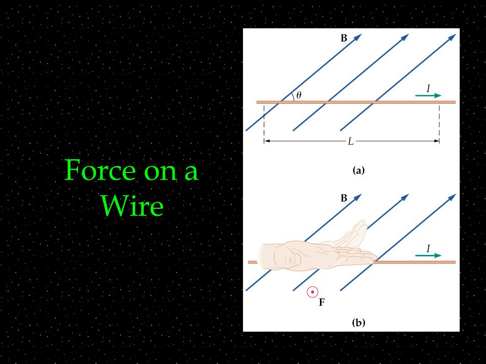 Force on a Wire