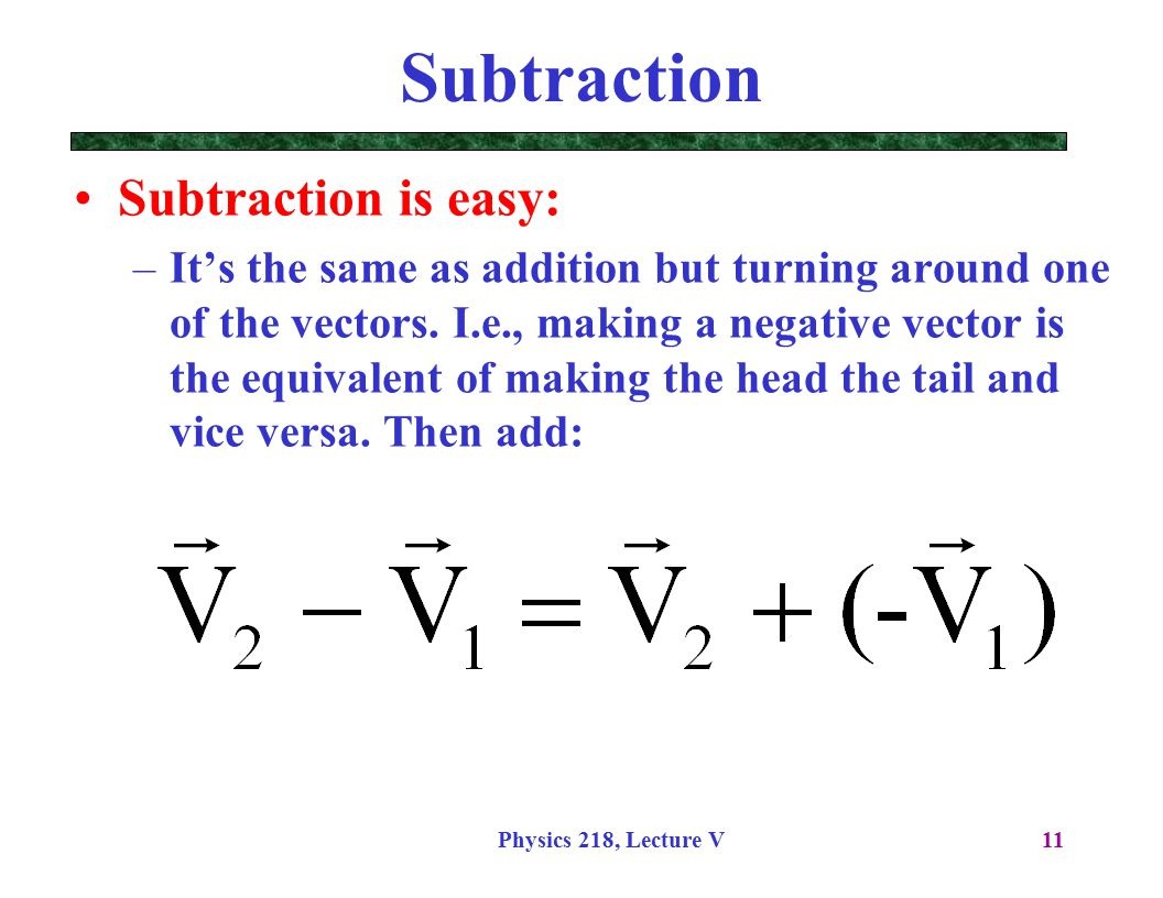 Adding amp subtracting vectors video  Khan Academy