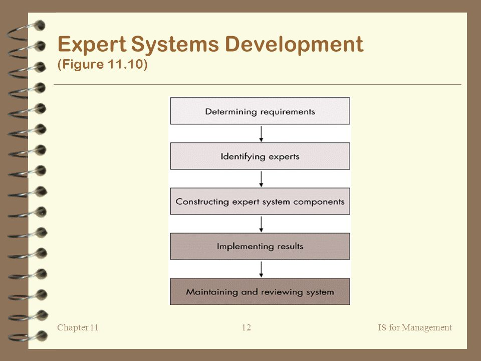Chapter 11IS for Management12 Expert Systems Development (Figure 11.10)