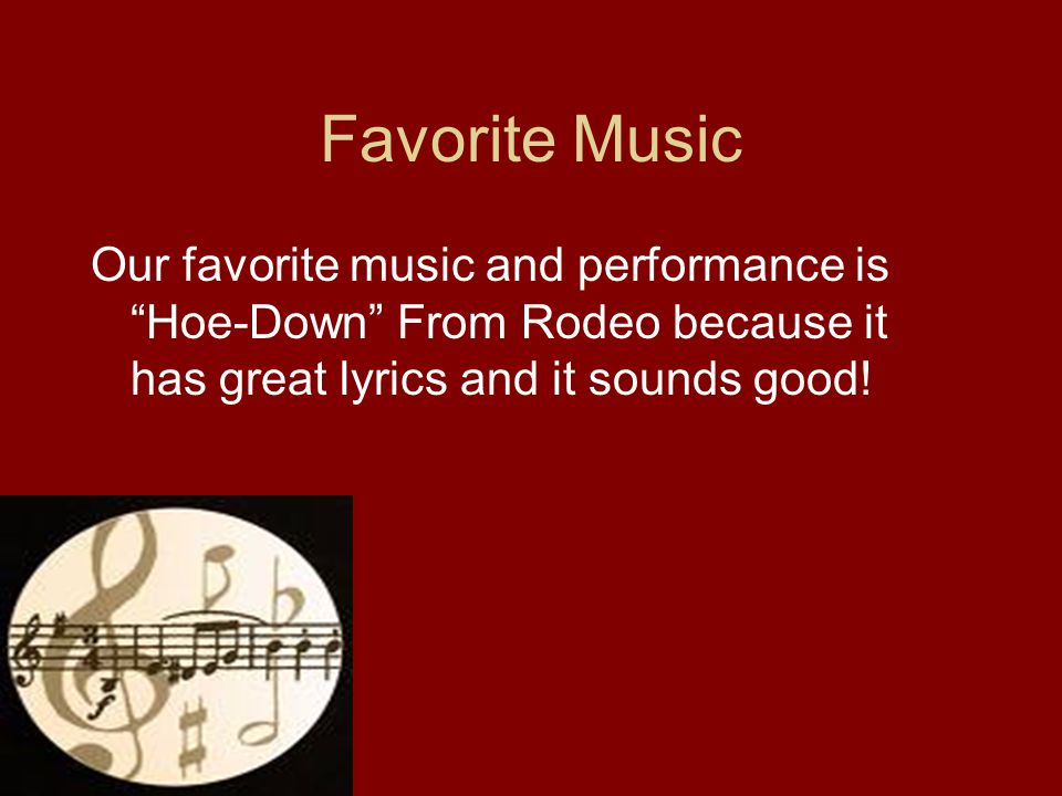 Lyric down rodeo lyrics : Aaron Copland By:Corey Short and Josh Chasteen Where he was Born ...