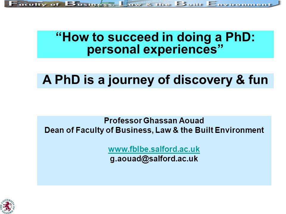 Doing phd in uk