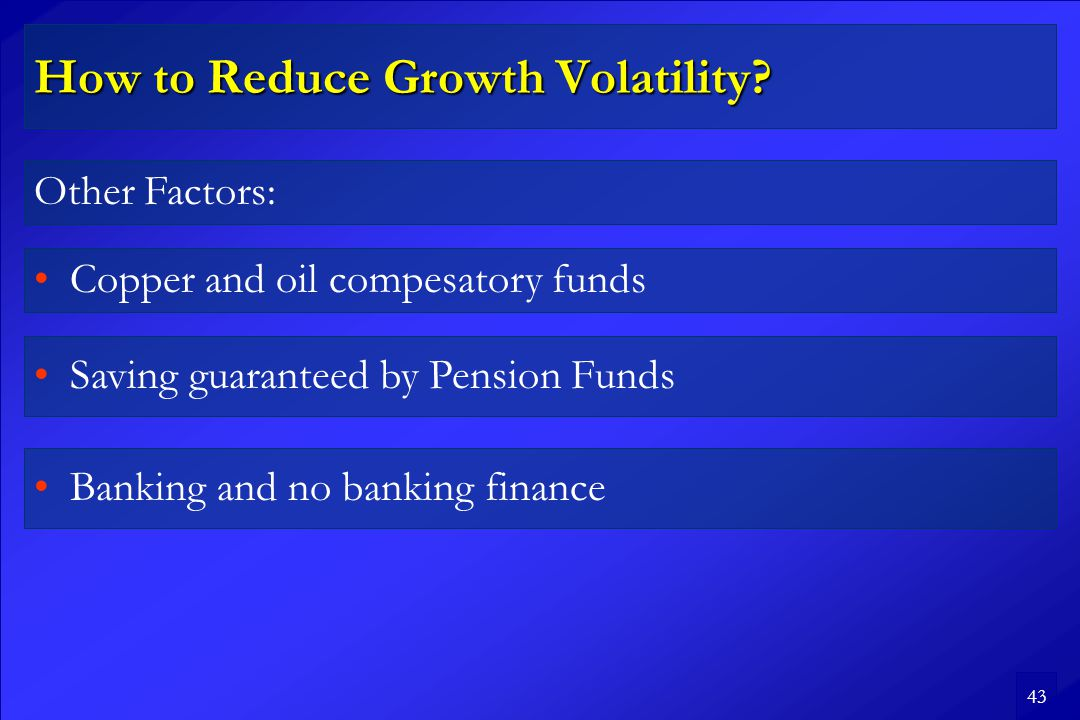 43 How to Reduce Growth Volatility.