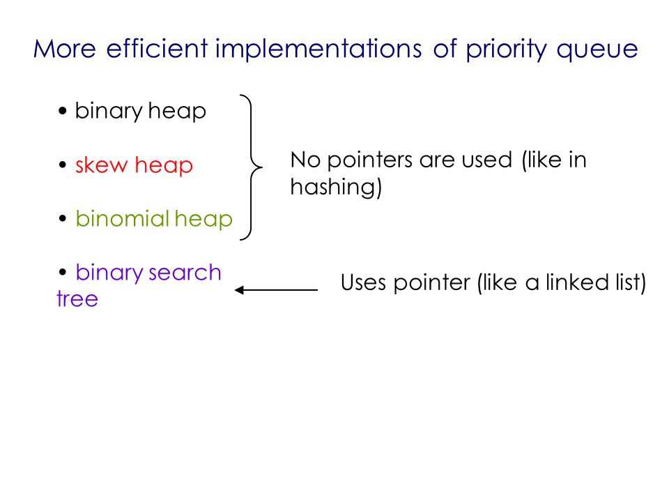 priority queue algorithm pdf