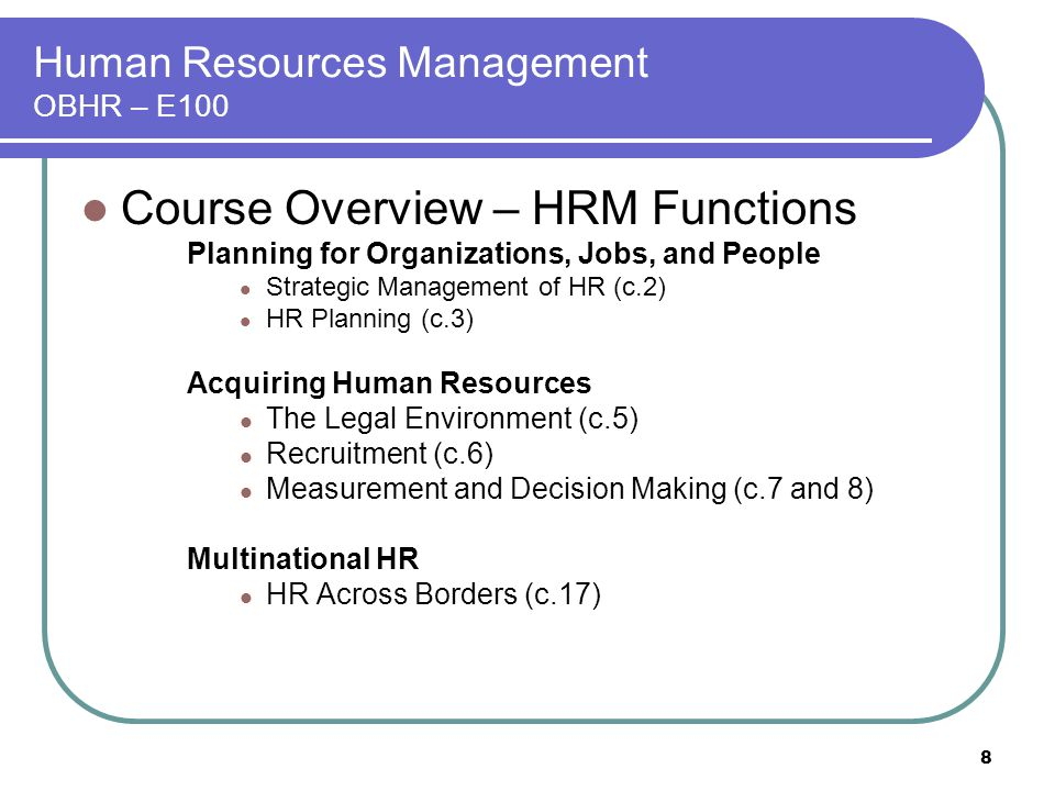 toyota strategic human resouce management overview