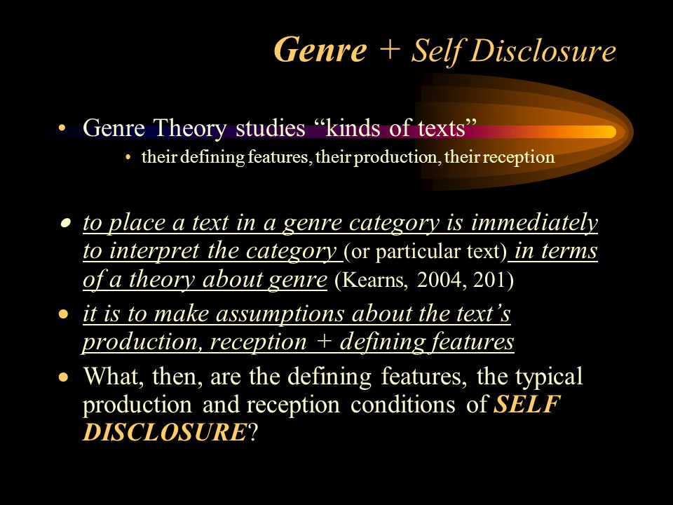 a discussion on self disclosure and the many interplay of factors it reflects Self-disclosure: an experimental researchers have also studied how various social factors affect general self-disclosure in sm  [taylor & francis online].