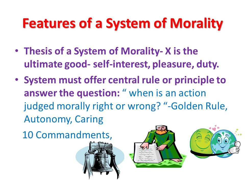 morality vs duty essay Here we have only an imperfect duty not act having demonstrated the supreme principle of morality by reference to autonomy, kant can hardly now claim to ground.