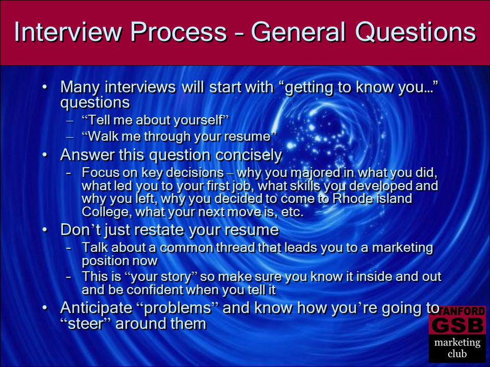 questions for interviewers