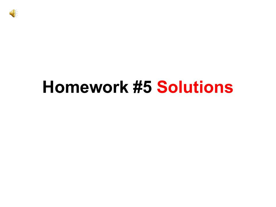 homework 5 solution View homework help - homework 5 solutionpdf from stat 371 at university of wisconsin.