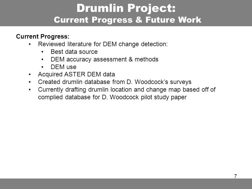 MaFoMP Drumlin Project Faculty Advisors John Rogan Deborah - Aster dem data