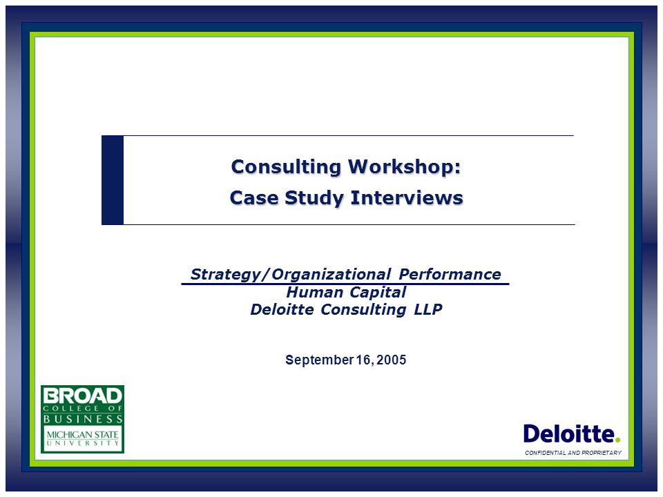 deloitte consulting case studies uk