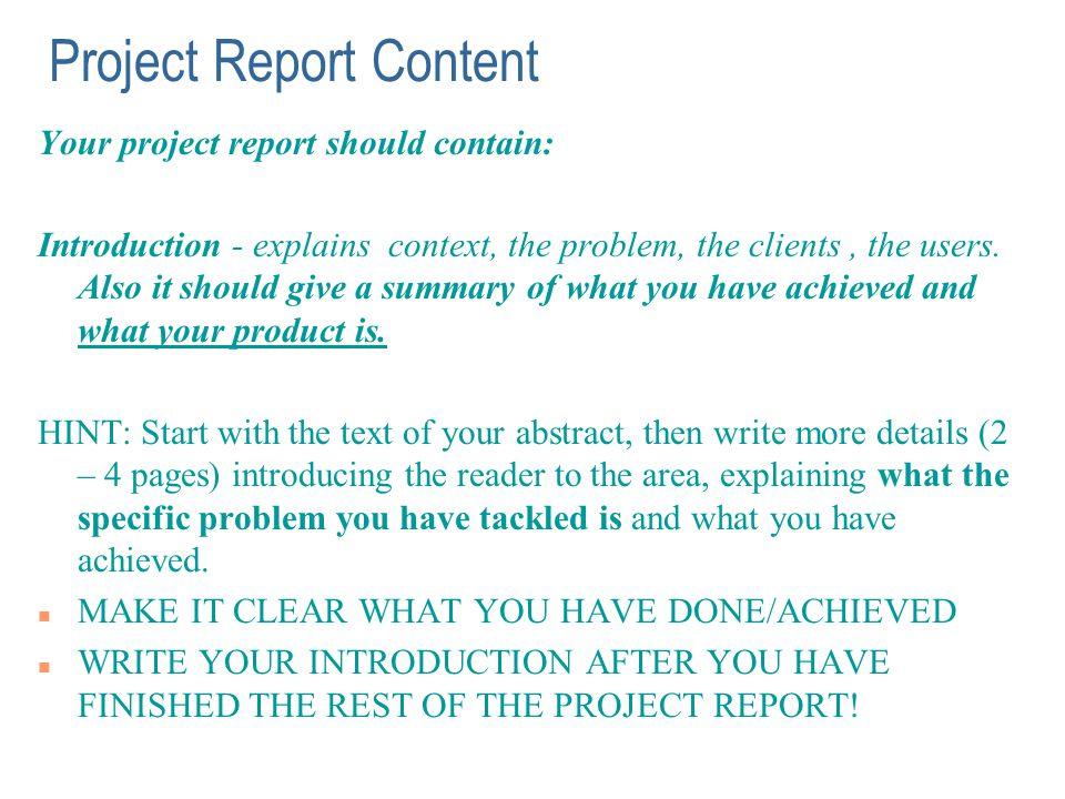 Report Sample Riobrazil Blog How To Write A Short Report Formal Lab Report  Example              Report Sample Project Report Writing Template Project  Report